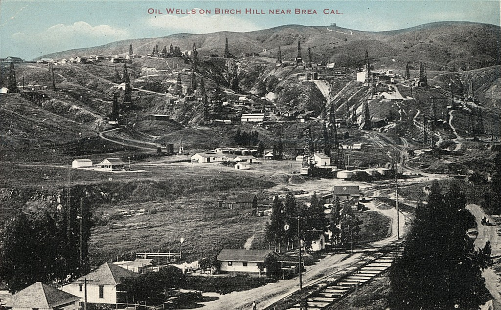 Oil Wells on Birch Hill